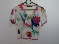 LEONARD(レオナール) 半袖カットソー サイズM レディース美品  花柄