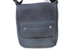 ポルシェデザイン ショルダーバッグ美品  黒×グレー ナイロン
