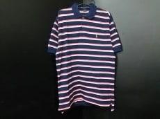 ポロラルフローレン 半袖ポロシャツ サイズL メンズ ボーダー