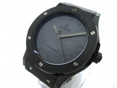 HUBLOT(ウブロ) 腕時計 美品 511.CM.0500.VR.BER16 メンズ 黒