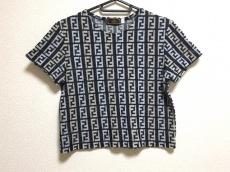 フェンディ 半袖Tシャツ サイズ44 L レディース ズッカ柄 パイル