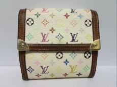 ルイヴィトン Wホック財布 モノグラムマルチカラー M92983 ブロン