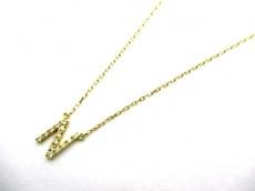 AHKAH(アーカー) ネックレス美品  K18YG×ダイヤモンド