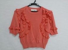 リリーブラウン 半袖セーター サイズF レディース美品  ピンク