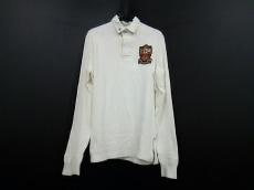 ポロラルフローレン 長袖ポロシャツ サイズS メンズ美品  白