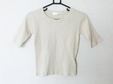 リリーブラウン 半袖セーター サイズF レディース美品  ベージュ