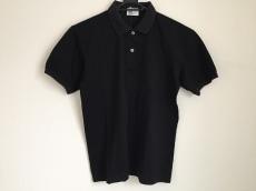 ハナエモリ 半袖ポロシャツ サイズM メンズ美品  黒 刺繍