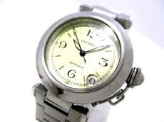 カルティエ 腕時計 パシャCスモールデイト W31015M7 レディース