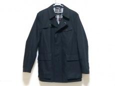 バーバリーブラックレーベル コート サイズL メンズ美品  黒