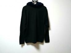 ヨウジヤマモト 長袖セーター サイズM レディース 黒×ネイビー