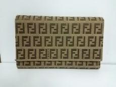 FENDI(フェンディ) 3つ折り財布 ズッキーノ柄 8M0011 ジャガード