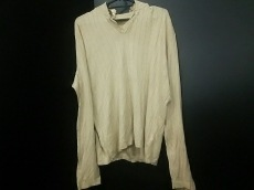 HERMES(エルメス) 長袖セーター サイズXL メンズ ベージュ