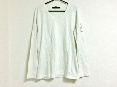 ロアー 長袖Tシャツ サイズ3 L メンズ 白 ラインストーン/スタッズ