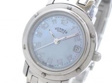 エルメス 腕時計美品  クリッパー CL4.210 レディース シェル文字盤