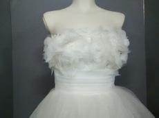 aimer(エメ) ドレス サイズ9 M レディース美品  白×クリア