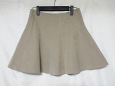 theory(セオリー) スカート サイズ0 XS レディース美品  ベージュ