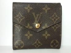 ルイヴィトン Wホック財布 モノグラム 旧型Wホック財布 M61660