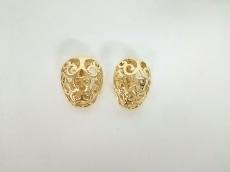 YvesSaintLaurent(イヴサンローラン) イヤリング 金属素材 ゴールド