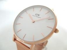 ダニエルウェリントン 腕時計美品  - B32R1 レディース 白