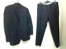 ドルチェアンドガッバーナ シングルスーツ サイズ7R メンズ 黒×白