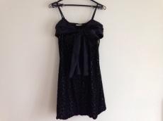 グレースクラス ドレス サイズ36 S レディース美品  黒 刺繍/リボン