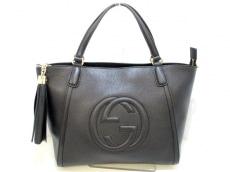 GUCCI(グッチ) ハンドバッグ美品  ソーホー 369176 黒 レザー