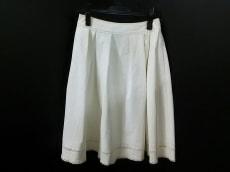 フォクシーニューヨーク スカート サイズ38 M レディース 白