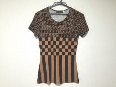 FENDI(フェンディ) 半袖Tシャツ サイズ44 L レディース ズッカ柄
