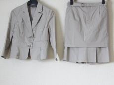 ボディドレッシングデラックス スカートスーツ サイズ36 S グレー