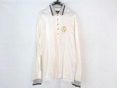 バレンザポースポーツ 長袖ポロシャツ サイズ40 M レディース 白×黒