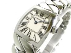 カルティエ 腕時計 ラドーニャSM W6600121 レディース SS 白