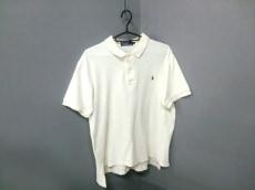 ポロラルフローレン 半袖ポロシャツ サイズL メンズ美品  アイボリー