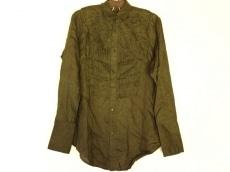 ヨウジヤマモト 長袖シャツ サイズ1 S メンズ美品  ダークグリーン
