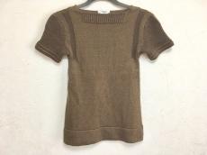 クロエ 半袖セーター サイズXS レディース新品同様  ダークブラウン