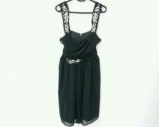 Chesty(チェスティ) ドレス サイズ0 XS レディース美品  黒 ビジュー