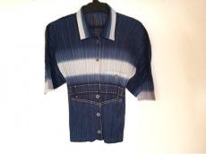 プリーツプリーズ 半袖シャツブラウス サイズ3 L レディース美品