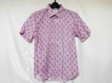 ランバンオンブルー 半袖シャツ サイズ48 XL メンズ美品  花柄