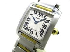 カルティエ 腕時計 タンクフランセーズSM W51007Q4 レディース