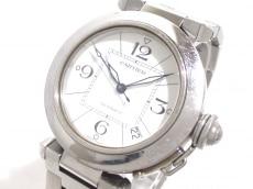 Cartier(カルティエ) 腕時計 パシャC W31074M7 ボーイズ SS 白