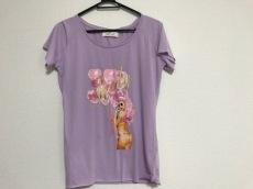 レディ 半袖Tシャツ サイズF レディース パープル×ピンク×マルチ