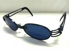 ヨウジヤマモト サングラス美品  52-6105 黒 プラスチック×金属素材