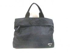 PRADA(プラダ) ハンドバッグ - BR4561 黒 ナイロン×レザー