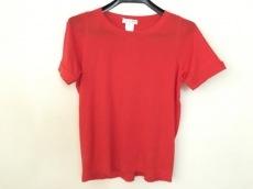CELINE(セリーヌ) 半袖セーター サイズS レディース オレンジ