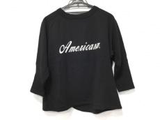 AMERICANA(アメリカーナ) トレーナー レディース美品  黒×白