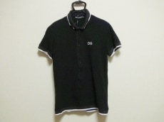 ドルチェアンドガッバーナ 半袖ポロシャツ サイズ50 XL レディース
