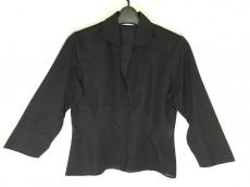 ナラカミーチェ 七分袖シャツブラウス サイズO レディース美品  黒