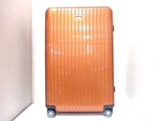 RIMOWA(リモワ) キャリーバッグ オレンジ TSAロック/ロックNo【727】