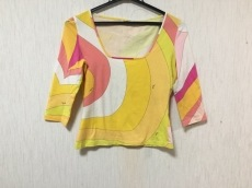 エミリオプッチ 七分袖Tシャツ サイズ38(I) S レディース美品