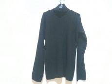 ヨウジヤマモト 長袖セーター メンズ 黒 POUR HOMME/タートルネック