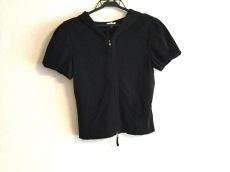 FOXEY(フォクシー) パーカー サイズ40 M レディース 黒 半袖